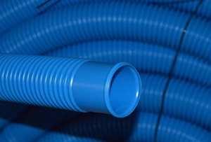 weixe lbaumer 15m–38mm–tuyau flexible Bleu avec manchon/piscine