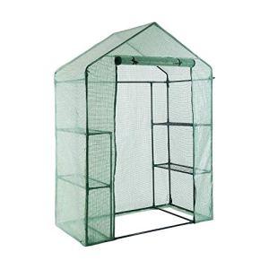 YOUKE Serre de Jardin PE Plastique Tente abri – diverses modèles – (143 x 73 x 195 CM)