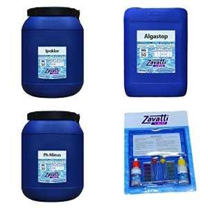 Zavattishop Kit 150 Kg Calcium produits chimiques pour piscine