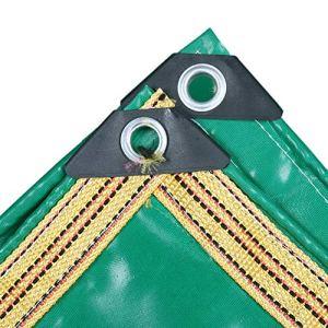 Bâche Polyvalente, épaisse imperméable résistante de PVC pour la Piscine, Jardin, Couverture de remorque (Taille : 4.5x8m)