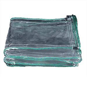 Baches Yang Toile imperméable à l'eau de Pluie imperméable à l'eau de Pluie imperméable à l'eau de Balcon de Rideau de Protection Solaire en Plastique PVC – Options Multi-Tailles (Taille : 1.4x5M)