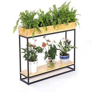 MILAYA JI Bin Shop® Stand De Fleurs, Bureau Rack De Salon, Partition Café Porche Bonsai ++ (Taille : 120x30x87cm)