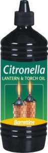 Outdoor Citronella lamp oil
