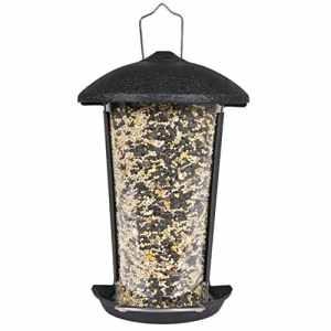 Perky-Pet Mangeoire à oiseaux à monter sur pied ou à fixer adossé contre surface plate – Capacité max. 500g de graines #101-5