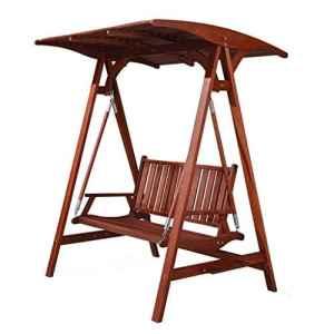 Rocking chair Chaise à Bascule Health UK pour extérieur en Bois Massif imperméable Double terrasse
