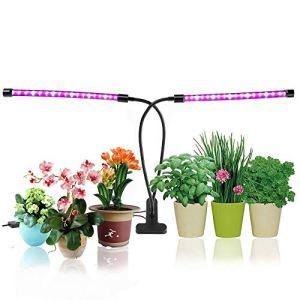 Soasa Growing Light 18W Double temps de chronométrage 36 LED 5 niveaux réglable