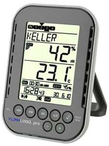 TFA dostmann air-eau-thermo-enregistreur avec hygrosender temperatursender et câble –
