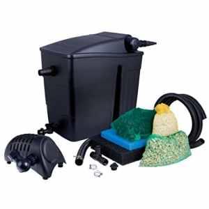 Ubbink Filtre de Berge filtramax 12500 Plus Set (UV-c 11w + powermax 5000 FI)