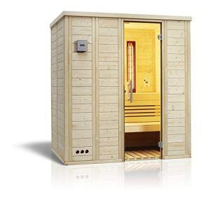 Unbekannt 391089 Infraworld Sauna Vitalis 184 Complet Sauna Infrarouge 184 x 119 cm, Set 391090