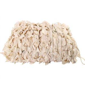 YMXLJF Filet Pare-Soleil en Toile de Jungle Camouflage Blanc Bloquer 70% des Rayons UV (Couleur : A, Taille : 4x6m)