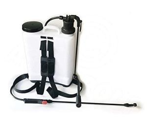 Blanc Sac à dos sac à dos Pulvérisateur à pression 16L capacité – EAU/ Désherbant/ fertilisant par ASC