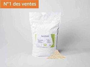 Diamix®Terre de diatomée, Alimentaire – 3KG- Utilisable en Agriculture Biologique – Haute pureté sans Traitement – Nombreux usages en Basse Cour et Maison.