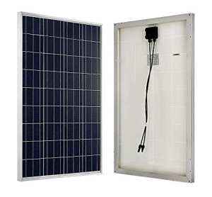 ECO-WORTHY 100w 12v module solaire polycristallin panneau solaire photovoltaïque cellule solaire idéal pour recharger les piles 12 volt