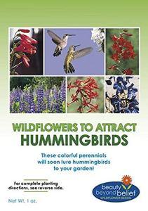 GEOPONICS Hummingbird Nectar flowerBulk + 8 Bonus Gardening eBooks + Open-Po