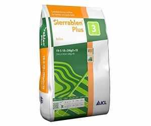 ICL Engrais Gazon Professionnel Sierrablen Plus 19-5-18 pour la fertilisation en période de Croissance (Printemps et été).