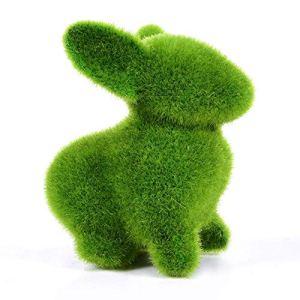 iShiné Décoration Animale d'herbe De Bonsaï De Plante Verte Émulatoire De Fibre De Nylon