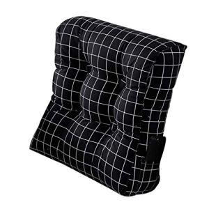 Jstyal968 Yalztc-zyq16 Coussin de tête de lit de Bureau Taille de Bureau canapé Taille fenêtre arrière baïonnette Dossier Coussin Coton Triangle (Couleur : D)