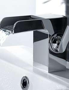 SZ 260mm Chromé moderne laiton lavabo pour robinets