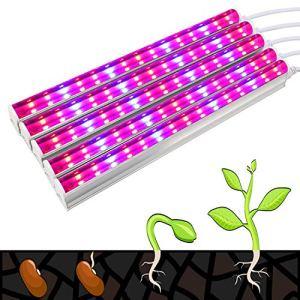 T5 Lampe de croissance 30 LED Rouge et Bleu Démontage séparé 32 x 24 x 6,8 cm