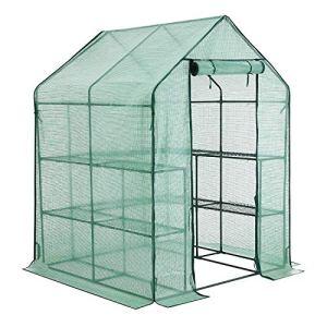 YOUKE Serre de Jardin PE Plastique Tente abri – diverses modèles – (143 x 143 x 195 CM)