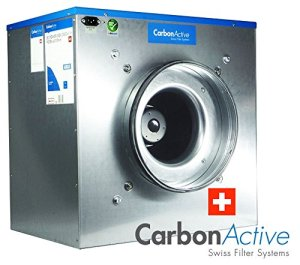 Active EC Silent box carbone avec greenception wuchs Engrais 100 g 2200 m3/h