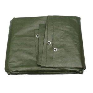Bâche de protection textile haut de gamme, 260 g/m², disponible dans 23 dimensions, couleur : vert ou blanc au choix Bâche de protection – Housse pour bateau – Bâche pour bois.