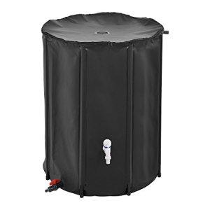 [casa.pro]®] Récupérateur d'eau PVC Inoxydable et Résistant aux UV 500 litres de Capacité 80 x 98 cm