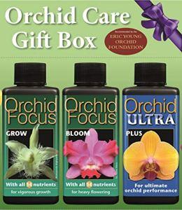 Coffret cadeau de soin pour orchidées (Jeu de 3 x 100ml)