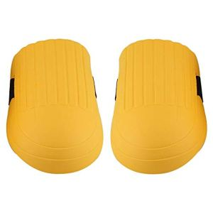Eastbuy Genouillère – 1 Paire de genouillères en EVA Équipement de Protection pour Les Genoux pour Les planchers de Jardinage de Construction (Couleur : Yellow)