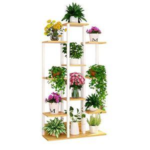 GF Support De Fleurs, Stockage De Plancher De Salon Blanc Plante Verte en Pot Créative Multicouche (Size : 75 * 28 * 70cm)