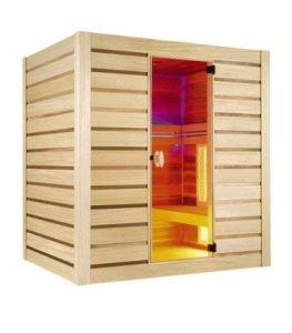 Sauna Hybride Combi – 4 places