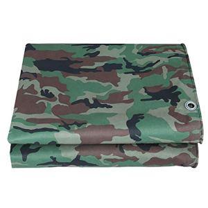 Waterproof Cloth Home Tente extérieure Toile antipluie avec Toile imperméable avec Toile Pliable en bâche imperméable (Color : A, Size : 6×6m)