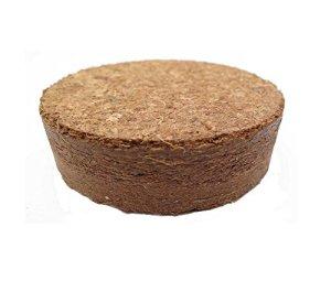 Boulettes gonflants à la noix de coco d'environ Ø 35 mm, 500 pièces (EUR 0,17 / pièce), terreau sans tourbe à base de fibres de coco pressées, rendement d'environ 90 ml par boulette