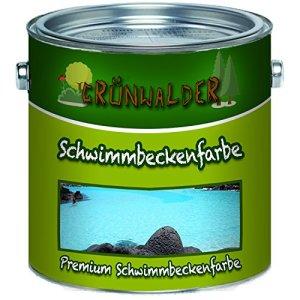 grünwalder piscine couleur Premium piscine couleur en bleu blanc vert non toxique, wasserundichte bassin couleur, bleu