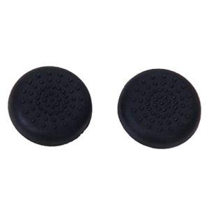 Hangqiao Paire de Bouchons Capuchons de Manche à Balai Thumbstick pour Manette PlayStation 4 PS4 – Noir