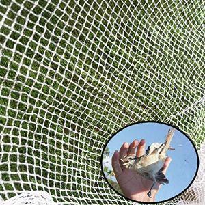 LANGYINH Filet Anti-Oiseaux de Jardin, Filet de Protection des Plantes, pour la Lutte Contre Les parasites, la Protection des Cultures et des légumes, Maillage de 0,8 x 0,8 cm,6x200m