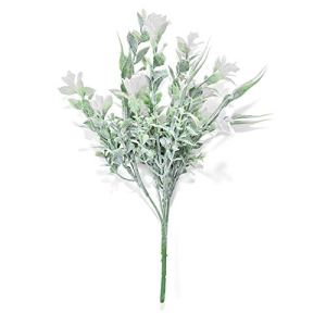 Little Fairy Fang Artificial Flowers Decoration Simple and Natural Flocking Orchid Bridal Decor Decorative Flowers Bouquet for Wedding