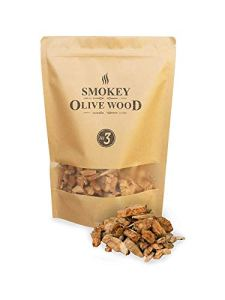 Olive wood smokey nº3 räucherchips moyen