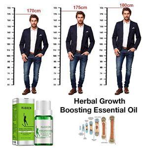 HELING Huile Essentielle stimulante stimulante pour la Croissance – Hydratante Promouvoir la Division cellulaire et la Croissance osseuse, Faites de Votre Huile Essentielle des Pieds Plus apaisants