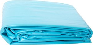 Liner PVC pour piscine poolomio, liner de grande qualité et résistant au froid, adapté aux piscines avec parois en acier de Ø 460 x 120 cm x 0,6 mm