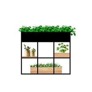 Pot de fleur Le stockage de plantes d'usine en métal de présentoir de jardinière de présentoir de pot de fleur de maison rayonne des étagères de support pour le bureau Rack de rangement Bonsai