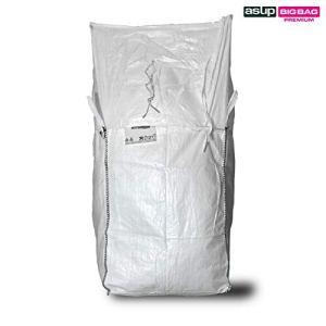 ASUP Big Bag Couvercle pour tablier SWL 1,250 kg 90 x 90 x 165 cm, blanc