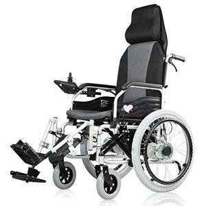 DEAN Déambulateur électrique, Aide Intelligente pour Les Personnes âgées, Cadre en Alliage d'aluminium, Aide à la Marche pour Les Personnes âgées handicapées, adapté à Tous Types de Marche