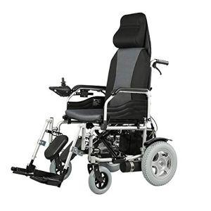 DEAN Pliage léger avec Fauteuil Roulant électrique, Fauteuil Roulant Durable, sûr et Facile à Conduire pour Plus de Confort