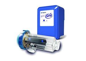 Gre SCG100 – Chlorateur au sel pour Piscines jusqu'à 90 m3, 21 grammes / heure