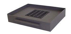 IMEX 71413 Bac pour Barbecue 52 x 40 x 10 cm