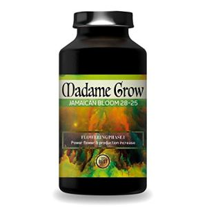 MADAME GROW | Engrais Floraison | Engrais Cannabis | Fertilisant Floraison | Super Bourgeons | Cannabis Jamaican Bloom 28-25 … (250ML)