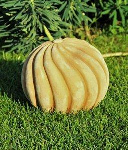 Main, spirale Boules Boules décoratives, au gel Terracotta, qualité Jardin Boules extérieur terrasse 44 cm