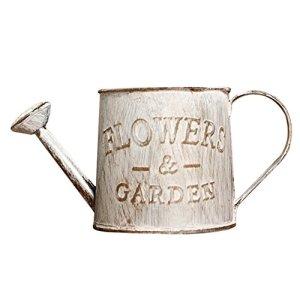 Vintage en Métal vintage Pot de fleurs, petite Plante Arrosoir, Pot de fleurs en métal Seau Plante bonsaï Pot Pots de jardin Home décoratif Ornement Craft b