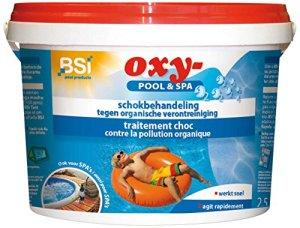 BSI Oxy-Pool & Spa Traitement d'eau de piscine 2,5 kg